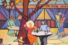 2015. Летнее кафе. Х.м. 70х80