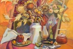 2015. Осенний натюрморт. Х.м. 70х70