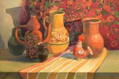 2016. Старые вазы. Х.м. 50х70